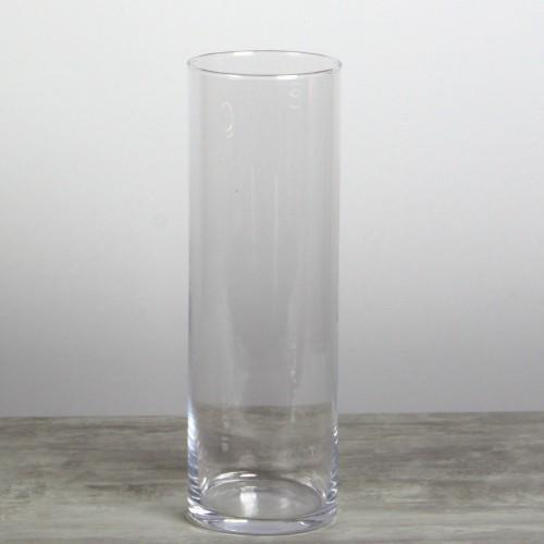Vase cylindrique verre GM