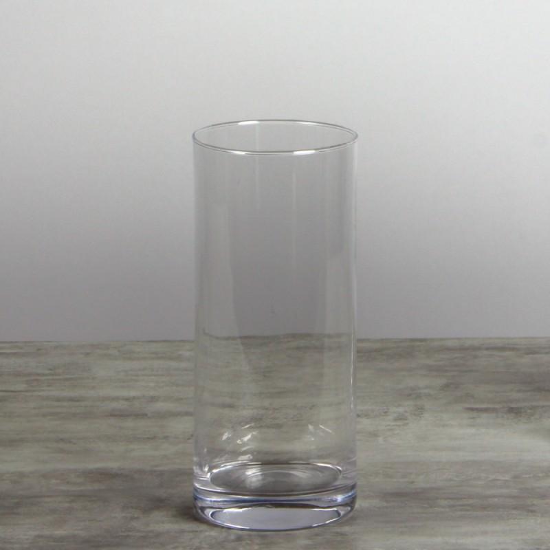 Vase cylindrique verre PM