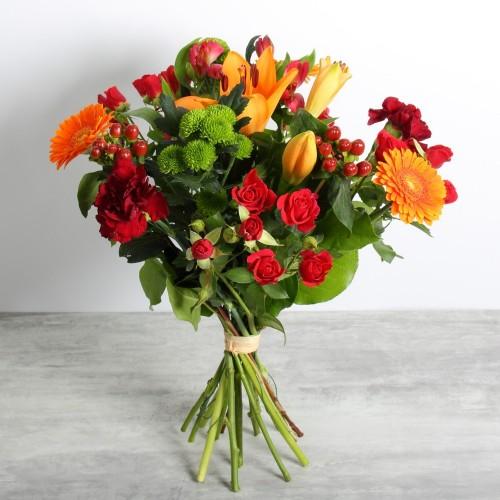 Bouquet de la fleuriste - Coloré